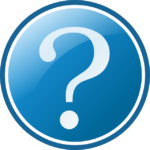 Ein Fragezeichen Icon
