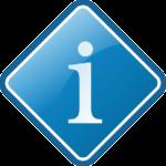 Info Icon als Raute